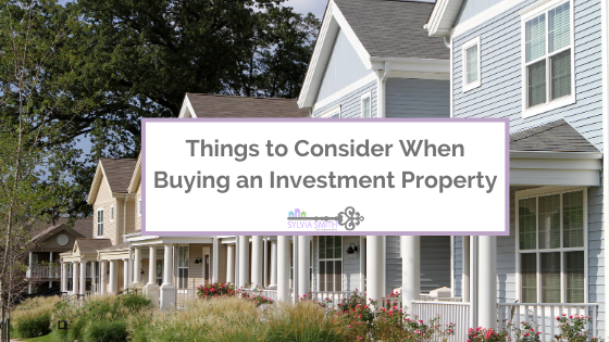 Things to Consider When Buying an Investment Property