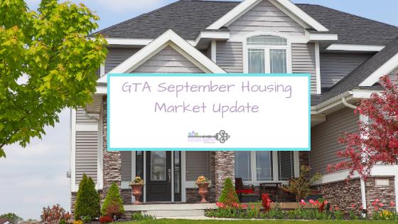 GTA September Housing Market Update