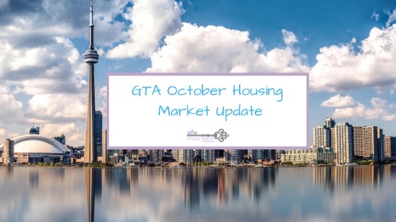 GTA October Housing Market Update