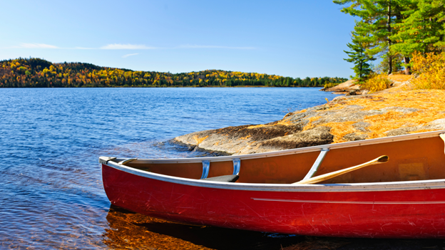 Cottage investing, canoeing