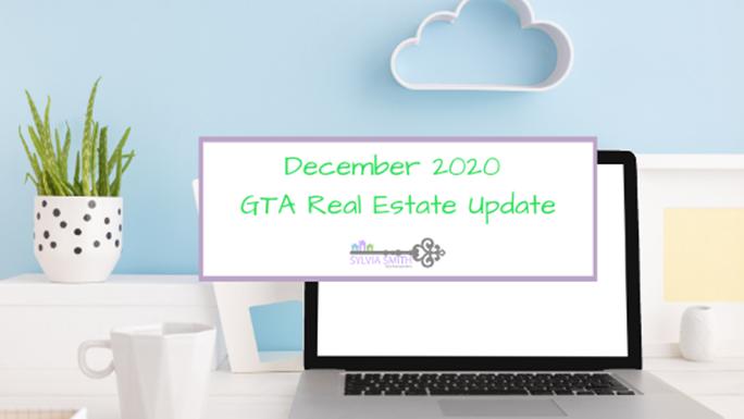 GTA Real Estate Market Update -December 2020