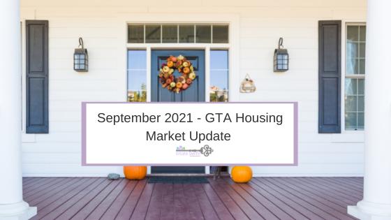 September 2021 - GTA Housing Market Update