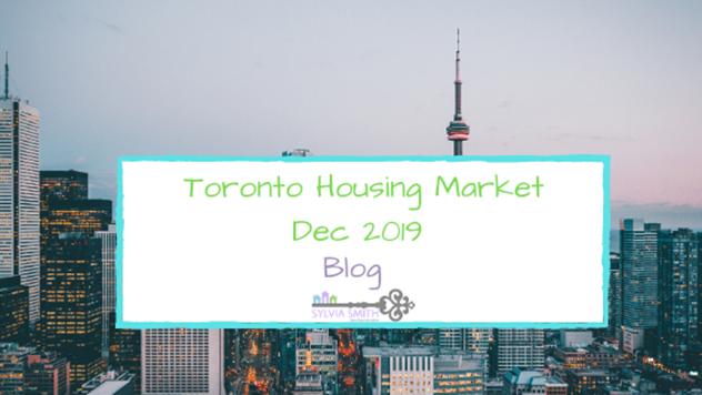 Toronto House Market – December 2019