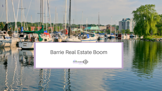 Barrie Real Estate Boom